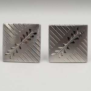 Other - Anson Vintage 925 Sterling Silver Cufflinks